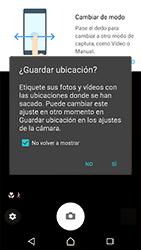 Sony Xperia XZ (F8331) - Funciones básicas - Uso de la camára - Paso 4