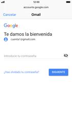 Apple iPhone 6 - iOS 11 - E-mail - Configurar Gmail - Paso 7