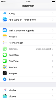 Apple iPhone 6s Plus - E-mail - Handmatig instellen (outlook) - Stap 3