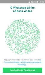 Samsung Galaxy Xcover 3 (G389) - Aplicações - Como configurar o WhatsApp -  5
