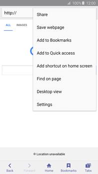 Samsung N920 Galaxy Note 5 - Internet - Internet browsing - Step 6