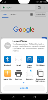 Huawei P20 - Internet - navigation sur Internet - Étape 20