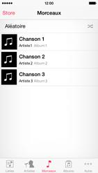 Apple iPhone 5s (iOS 8) - Photos, vidéos, musique - Ecouter de la musique - Étape 4