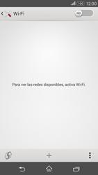 Sony Xperia E4g - WiFi - Conectarse a una red WiFi - Paso 5