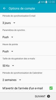 Samsung Galaxy Note 4 - E-mails - Ajouter ou modifier votre compte Outlook - Étape 7