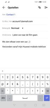 Huawei P30 Lite - E-mail - e-mail versturen - Stap 9