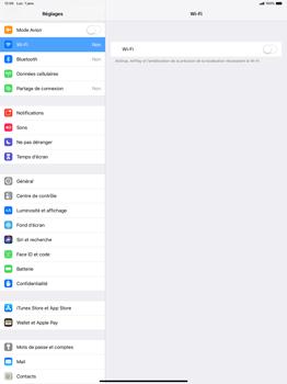 Apple iPad Pro 12.9 (2018) - Wi-Fi - Se connecter à un réseau Wi-Fi - Étape 4
