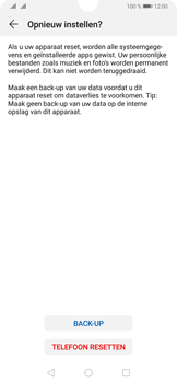 Huawei P30 - Toestel - Fabrieksinstellingen terugzetten - Stap 8