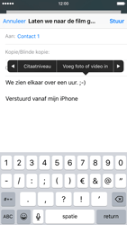 Apple iPhone 6 iOS 9 - E-mail - E-mail versturen - Stap 10