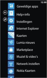 Nokia Lumia 900 - MMS - probleem met ontvangen - Stap 3