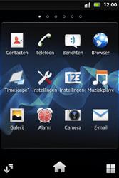Sony ST27i Xperia Go - E-mail - e-mail versturen - Stap 2