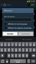 Samsung C105 Galaxy S IV Zoom LTE - Wifi - configuration manuelle - Étape 6