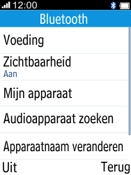 Alcatel 2045 (2045X) - Bluetooth - Aanzetten - Stap 5
