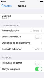 Apple iPhone SE iOS 10 - E-mail - Configurar correo electrónico - Paso 27