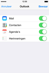Apple iPhone 4s iOS 8 - E-mail - Handmatig Instellen - Stap 8