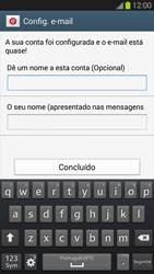 Samsung Galaxy S3 - Email - Configurar a conta de Email -  18