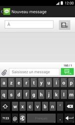 Bouygues Telecom Bs 403 - Contact, Appels, SMS/MMS - Envoyer un SMS - Étape 5