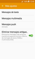 Samsung Galaxy J1 (2016) (J120) - Mensajería - Configurar el equipo para mensajes de texto - Paso 7