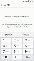 Samsung Galaxy A5 (2017) - Segurança - Como ativar o código de bloqueio do ecrã -  8
