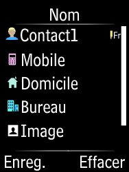 Doro Phone Easy 631 - Contact, Appels, SMS/MMS - Ajouter un contact - Étape 6