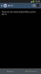Samsung Galaxy S4 - WiFi - Conectarse a una red WiFi - Paso 5