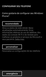 Nokia Lumia 920 - Primeiros passos - Como ativar seu aparelho - Etapa 6