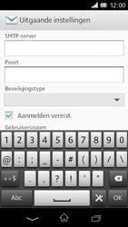 Sony C1905 Xperia M - E-mail - handmatig instellen - Stap 12