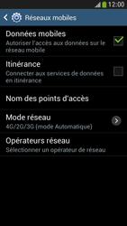Samsung Galaxy S4 Mini - Internet et connexion - Activer la 4G - Étape 8