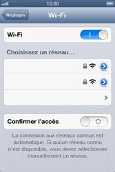 Apple iPhone 4 S - iOS 6 - Wifi - configuration manuelle - Étape 4