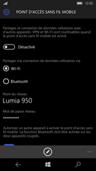 Microsoft Lumia 950 - Internet et connexion - Partager votre connexion en Wi-Fi - Étape 6
