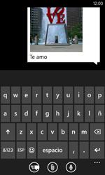 Nokia Lumia 520 - Mensajería - Escribir y enviar un mensaje multimedia - Paso 12