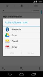 Motorola Moto G (1st Gen) (Kitkat) - Contactgegevens overzetten - delen via Bluetooth - Stap 7