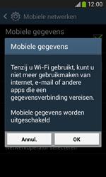 Samsung S7275 Galaxy Ace III - Internet - Aan- of uitzetten - Stap 7