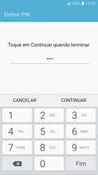Samsung Galaxy S7 - Segurança - Como ativar o código de bloqueio do ecrã -  8