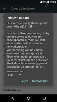 Acer Liquid Zest 4G Plus - Toestel - Software update - Stap 8