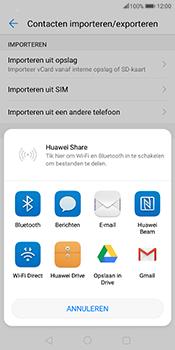 Huawei Mate 10 Pro - Contactgegevens overzetten - delen via Bluetooth - Stap 8