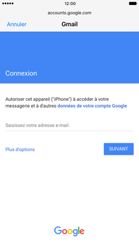 Apple Apple iPhone 6 Plus iOS 10 - E-mail - Configuration manuelle (gmail) - Étape 6