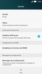 Huawei Y5 - Mensajería - Configurar el equipo para mensajes de texto - Paso 5