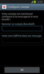 Samsung S7390 Galaxy Trend Lite - E-mail - Configuration manuelle - Étape 19