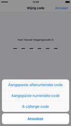 Apple iPhone 7 (Model A1778) - Beveiliging en ouderlijk toezicht - Toegangscode instellen - Stap 8