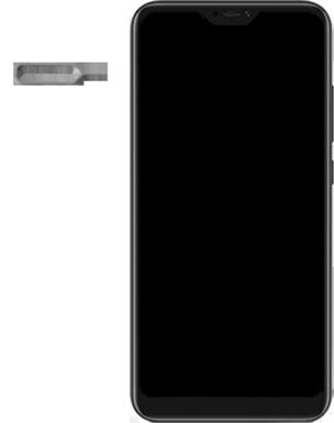 Xiaomi Mi A2 Lite - Appareil - comment insérer une carte SIM - Étape 2