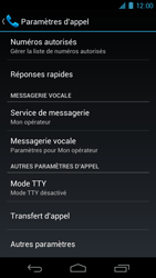 Samsung I9250 Galaxy Nexus - Messagerie vocale - Configuration manuelle - Étape 5
