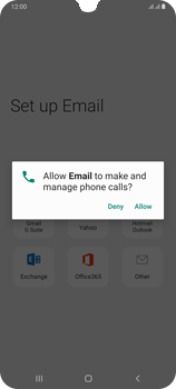 Samsung Galaxy A70 - E-mail - Manual configuration (outlook) - Step 10