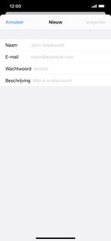 Apple iphone-xs-max-met-ios-13-model-a1921 - E-mail - Handmatig instellen - Stap 8