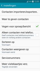Samsung A500FU Galaxy A5 - Contacten en data - Contacten kopiëren van toestel naar SIM - Stap 7