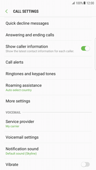 Samsung Samsung G928 Galaxy S6 Edge + (Android N) - Voicemail - Manual configuration - Step 6