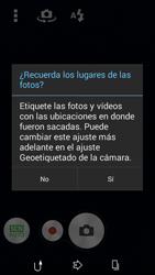 Sony D2203 Xperia E3 - Funciones básicas - Uso de la camára - Paso 4