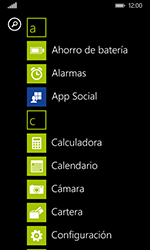 Nokia Lumia 635 - Funciones básicas - Uso de la camára - Paso 3