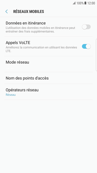 Samsung Galaxy S6 Edge+ - Android Nougat - MMS - configuration manuelle - Étape 7