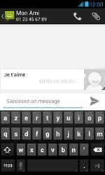 Bouygues Telecom Bs 401 - Contact, Appels, SMS/MMS - Envoyer un SMS - Étape 10